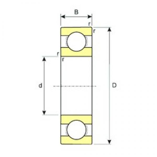 100 mm x 180 mm x 34 mm  ISB 6220 deep groove ball bearings #2 image